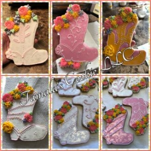 COWGIRL BOOT COOKIES