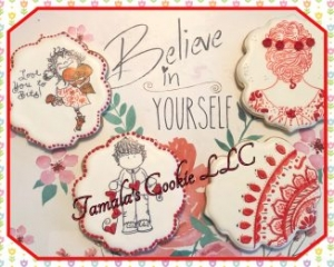 Happy Valentine Cookie Set