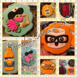 Covid Birthday Cookies by Tamalascookie